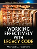 Book cover: Working Effectively with Legacy Code