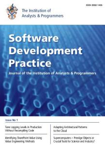 IAP Software Development Practice Journal