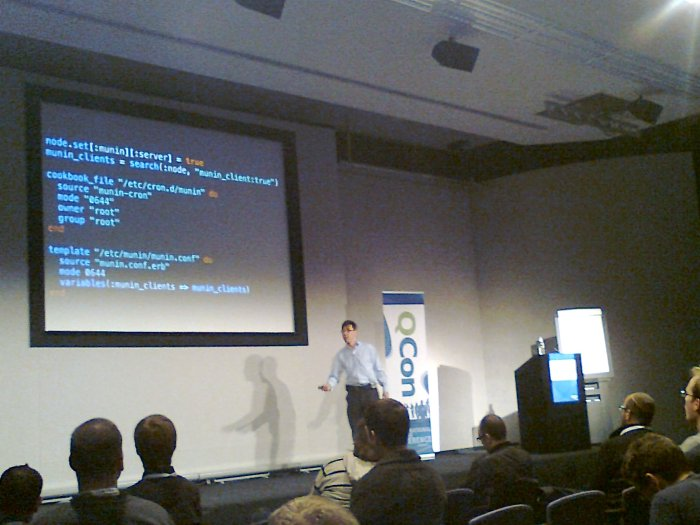 Stephen Nelson-Smith at QConLondon 2013