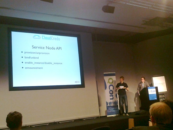 Andrew Crump and Chris Hedley at QConLondon 2013