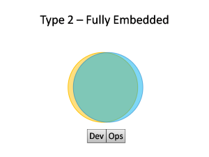Type 2 DevOps - Fully Embedded
