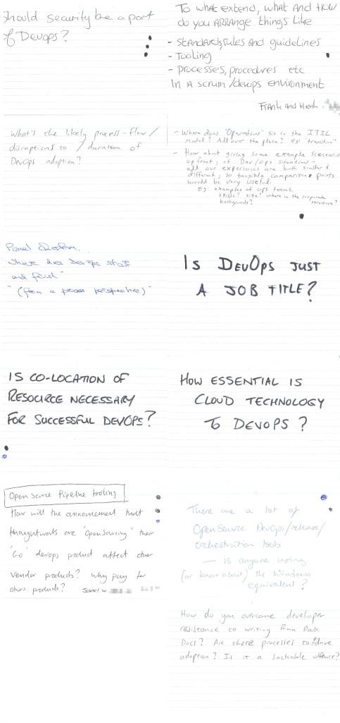 DevOps Summit questions