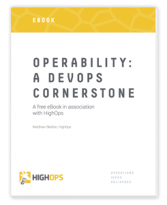 HighOps operability eBook - cover