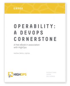HighOps operability eBook - cover