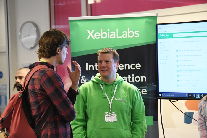 Sponsor - XebiaLabs - photo by Fabienne Jung